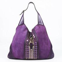Gucci Jackie O Bouvier Suede Hobo Bag - $585.00