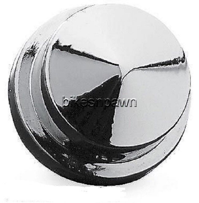 New Kuryakyn 8106 Chrome Head Bolt Covers for 87-18 Harley