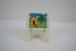 FISHER PRICE Loving Family Dollhouse Painting Easel - $2.96