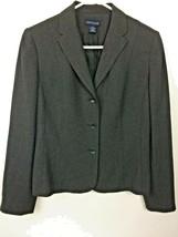 Ann Taylor Women's Charcol Career Wear Dress Blazer w/ Padded Shoulders ... - $5.20