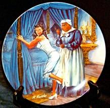 """Mammy Lacing Scarlett"" by Raymond Kursar Plate with Kaiser Box AA20-CP2223 Vint"