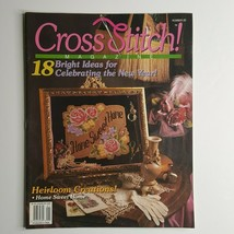 Cross Stitch Magazine December Januuary 1994  #20 Pegasus Southern Bell... - $3.95