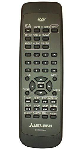 Mitsubishi DD5000 DD6000 Remote Control