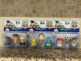 Disney Pixar Toy Story 4 Finger Puppets Complete Set In Hand Ready To Sh... - $98.99