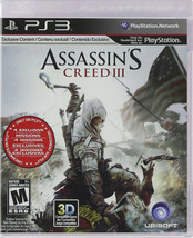 Assassin's Creed III (Sony PlayStation 3, 2012) Complete.  - $5.90
