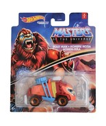 NEW SEALED 2021 Hot Wheels Diecast Masters of the Universe Beast Man Car - $14.84