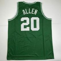 New RAY ALLEN Boston Green Custom Stitched Basketball Jersey Size Men's XL - $49.99