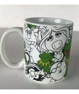 The Muppets Kermit The Frog And Friends Miss Piggy Animal Fozzie Beaker Mug - $14.03