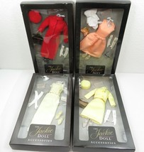 LOT OF 4 JACKIE KENNEDY DOLL OUTFIT CLOTHES ACCESSORIES NRFB  - $120.00
