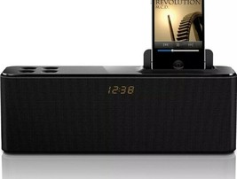 iPhone Docking Station Speaker Model AD345/37 with Clock Display - $12.99