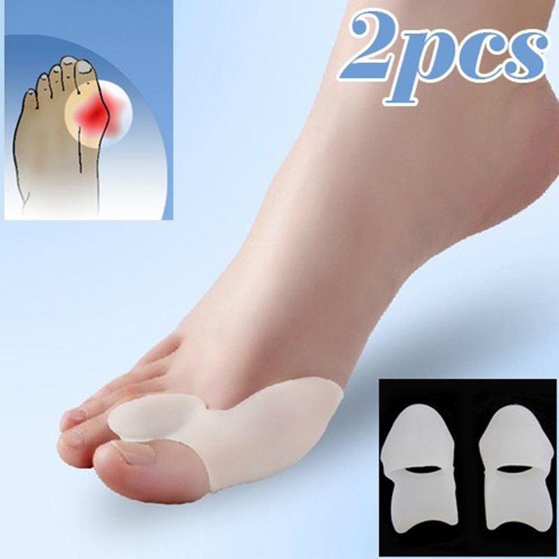 Hot selling hallux valgus pro feet care Toe seperator pies gel bunion guard toe