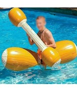 Inflatable Swimming Pool Toy Float 4 Pieces Joust Game Bumper For Adult ... - $45.98