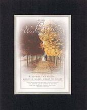 Our Wedding Day 8 x 10 Inches Biblical/Religious Verses set in Double Be... - $11.14