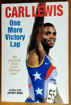 """Carl Lewis Signed Book """"One More Victory Lap"""" Softcover - $69.99"""
