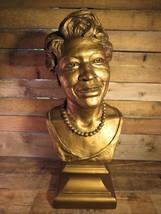 """ELLA FITZGERALD 24"""" Plaster Bust Koh Varilla Guild 1993 Statue Head - $395.99"""
