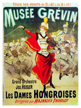 Musee Grevin Musical vintage POSTER.Graphic Design.Wall Art Decoration.3178 - $10.89+
