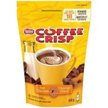 Nestle Coffee Crisp Hot Chocolate 6 bags 450g each 18 servings per Canadian - $69.99