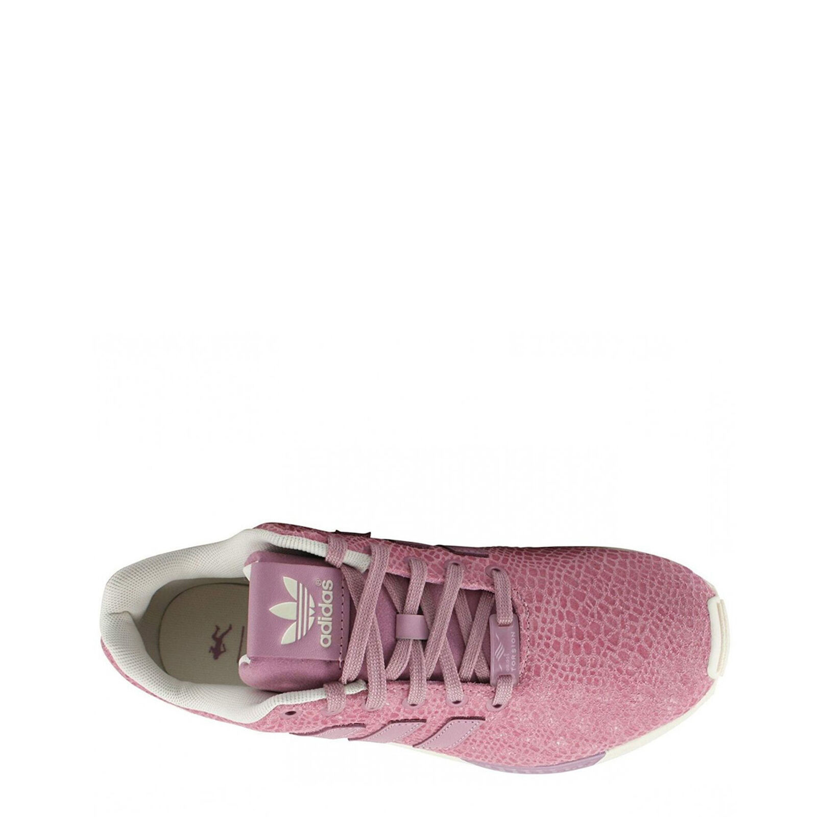 Scarpe Adidas Donna ZX FLUX, Sneakers Rosa B35311 effetto mosaico