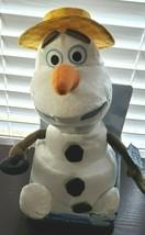 """New in Box Walt Disney Frozen Olaf Sing & Swing Plush 13"""" Dancing Snowman - $11.85"""
