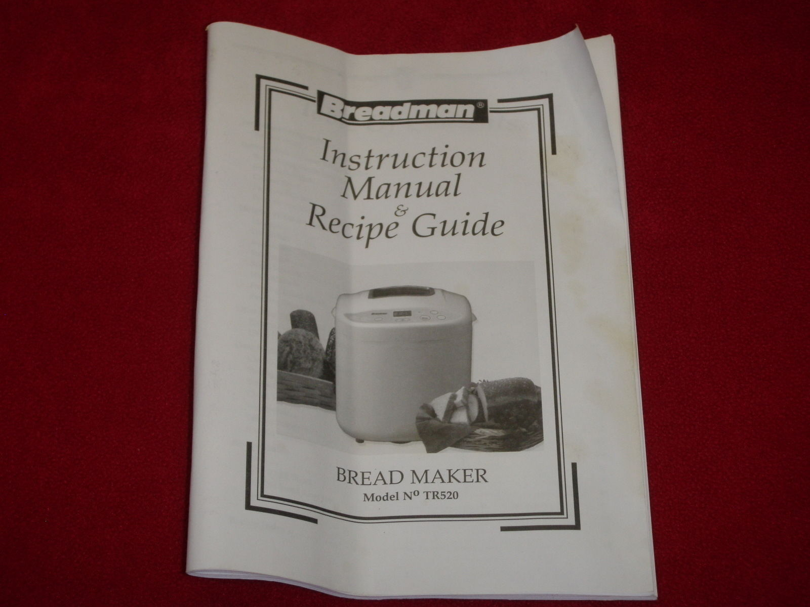 breadman bread machine instruction manual and 50 similar items rh bonanza com Oster 5838 Bread Machine Manual Oster Bread Machine Manual 4811