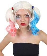 Harley Quinn Wig, Blue & Pink HW-141 - $28.85 - $29.85