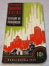 Chicago Souvenir Pocket Guide to a Century of Progress 1933 World's Fair - $9.95