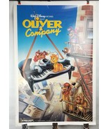 "Oliver & Company Walt Disney Pictures Single Sided Poster 27""x41"" Shippe... - $24.18"