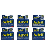 Advil Ibuprofen Tablets, 200 mg Pain Reliever/Fever Reducer 6 Coated (Pa... - $11.74