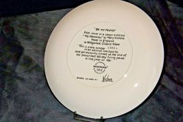 """1981 """"Be My Friend""""   Wedgewood by Mary Vickers AA20-2301 Vintage Commemorative  image 8"""