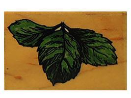 Stampendous 1994 Leaf Trio Rubber Stamp #E109