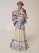 """LENOX LADIES """"CHERISHED MOMENT"""" FINE PORCELAIN SCULPTURE MOTHER & CHILD ... - $23.21"""