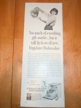 Vintage Cascade Frigidare Dishmobiles Print Mag... - $4.99