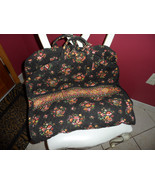 Vera Bradley garment bag in retired Chocolate pattern - $40.00