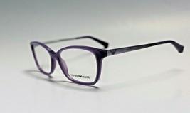 Authentic Emporio Armani EA3026 5128 Purple Eyeglasses Frame 52-15-140 - $78.80