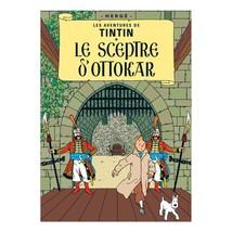 King Ottokar's Sceptre Tintin poster