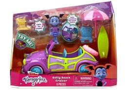 Disney Junior Vampirina Batty Beach Cruiser Figure & Vehicle [Lights & Sounds] - $34.97