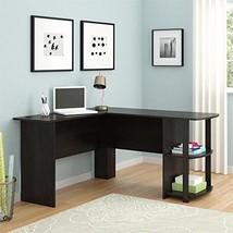 L-Shaped Desk Ameriwood Home Dakota L Bookshelves Assemble  Laminated  E... - $132.63