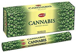 ABN Fashion Hem Cannabis Sticks Incense Natural Fragrance Hand Rolled Indian Aga - $15.59