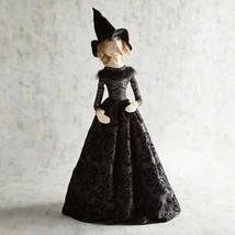 """NWT PIER1 $119 Halloween ELEGANT BLACK WITCH  Sculpture Figurine NWT 36""""... - $79.19"""