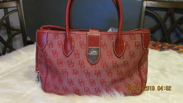 Dooney $ Bourkes Red Handbag  Medium Size Pre-Owned  Good Codition - $69.00