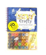 Provo Craft Sew Crafty Book w/30 Bobbins 4 Replacement Needles1 Threader... - $10.39