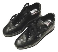 Authentic Prada America's Cup blackLeather women Sneakers SZ 37.5 - $195.00