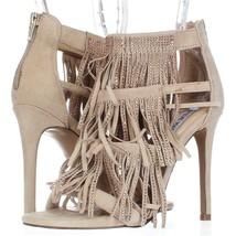 Steve Madden Fringly Dress Sandals, Blush Multi, 6 US Display - $36.47