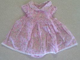 Sweet Girl's Size 3/6 M Month One Piece Pink Floral Outfit The Children's Place - $15.80