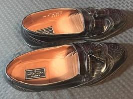 BOSTONIAN Classic  Oxfords Kiltie Tassel loafer Dress Shoes Brown 9.5M - $14.50