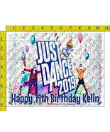 Just Dance 2019 Personalized Birthday Edible Frosting Image 1/4 sheet Ca... - $9.99
