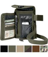 Travel Organizer Pouch Canvas Passport Holder Wallet Case Portfolio Shou... - $13.99+