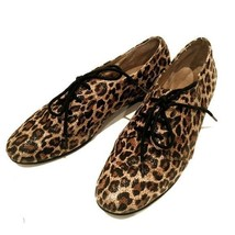 Womens Aerosoles Orange Sota Leopard print Flats Oxfords sz. 7 - $19.55