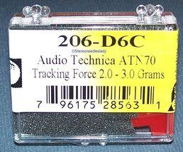 EV 206-D6C NEEDLE STYLUS for Technica ATN-70 Sanyo ST26J Sanyo ST63D 697-D7 image 3