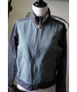 patagonia full zip jacket gray women sz M medium - $23.74